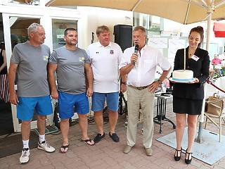 A 22 éves Tisztelt Ász! tenisztornán köszöntötték Farkas Bertalan első magyar űrhajóst űrrepülésének 40. évfordulóján