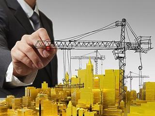 Durván visszaesett az építőipari termelés