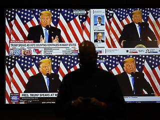 Amerika négy évre lebénulhat – csalódtak a demokraták