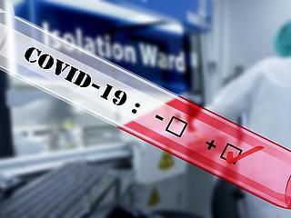 Koronavírus: május vége óta nem érkezett ilyen kellemetlen adat