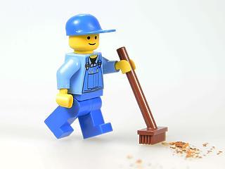 Különös ötlet: műanyag nélkül készítenék a Lego játékokat?