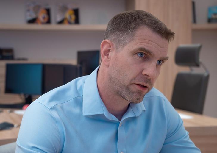Wéber Tamás, az MKB-Pannónia Alapkezelő befektetési igazgatója. Fotó: Izsó Márton