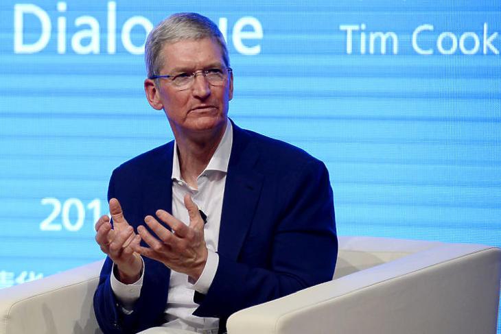 Jogosan aggódik az Apple vezére? (Fotó: Depositphotos)