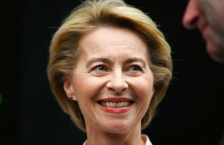 Ursula von der Leyen (Fotó: EPA/Patrick Seeger)
