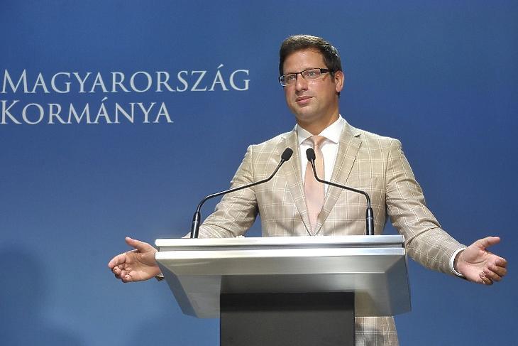 Gulyás Gergely (Korábbi felvétel. Fotó: Kovács Attila/MTI)