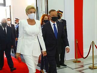 Vegyes fogadtatásban részesült a régi-új lengyel elnök