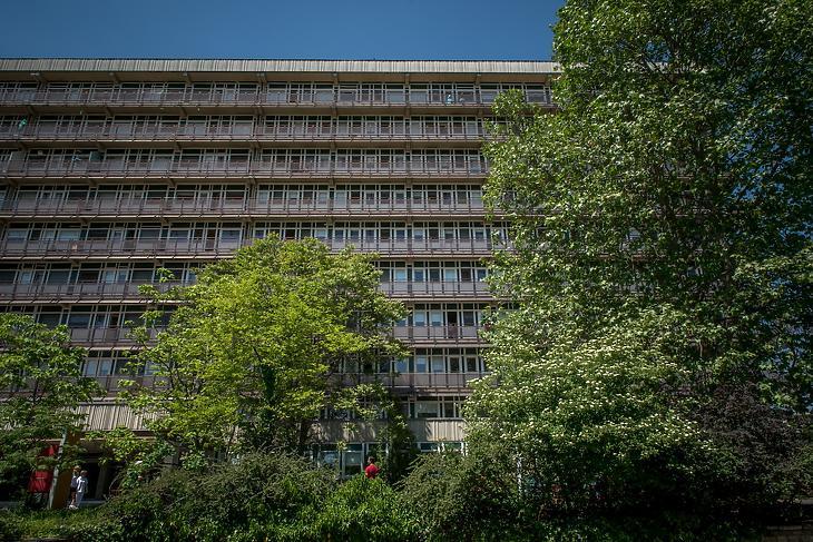 A Jahn Ferenc Dél-pesti Kórház és Rendelőintézetre is ráfér a ráncfelvarrás. Fotó: kórház