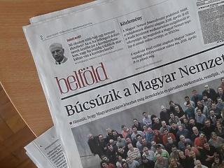 80 év után vége – így búcsúzik a Magyar Nemzet