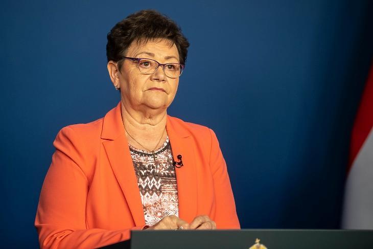 Dr. Müller Cecília: csak a családot tájékoztatják majd a tatabányai eredményről. Fotó: mfor