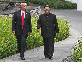 Barátom, Kim Dzsong Un - ezzel hangolt Trump a ma kezdődő USA-Észak-Korea csúcsra