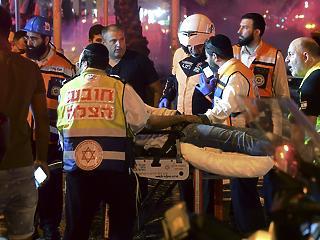 Már 35 palesztin és 3 izraeli áldozata van az újabb összecsapásoknak