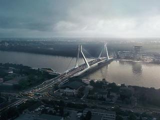 Új híd épül a Dunán – elképesztően jól néz ki
