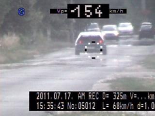 Szétbüntették a gyorshajtókat: ennyi autóst kaptak el a szupertraffipaxok