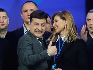 A nap képe: ez a csábos mosolyú nő lehet az új ukrán first lady