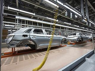 Decemberben nőtt az ipari termelés itthon