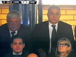 Milliárdosok gyűrűjében nézett meccset Orbán: mutatjuk, ki volt ott