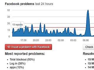 Ilyen is ritkán van: elsötétült a Facebook