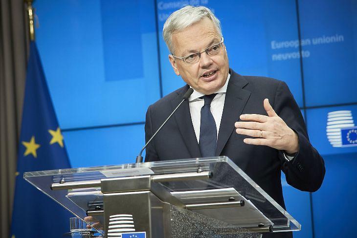 Didier  Reynders (Forrás: Európai Tanács)