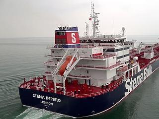 Irán lecsapott egy brit hajóra
