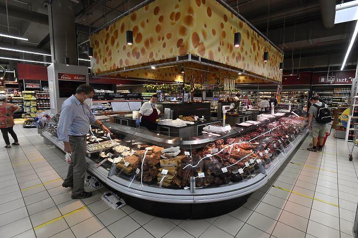 Elszálltak az élelmiszerárak (fotó: MTI)