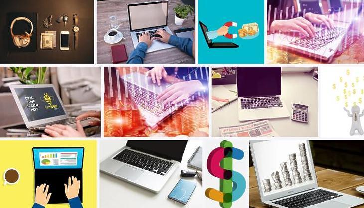 A passzív jövedelem fő eszköze egy számítógép (Fotó: Pixabay.com)