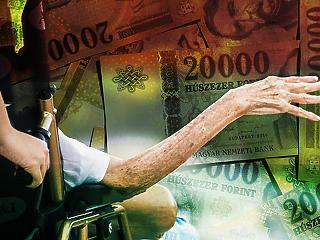 Jelentősen megverik a fizetések a nyugdíjakat