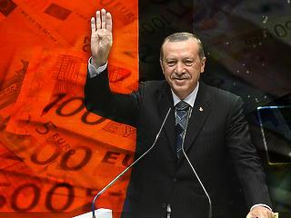 Több pénzt akar Erdogan a menekültek visszatartására