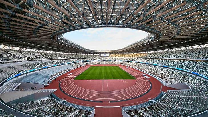 Üres lelátok előtt tartják a versenyeket (Forrás: tokyo2021.org)