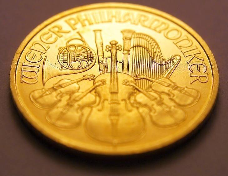 Bécsi Filharmonikusok aranyérme (Pixabay)