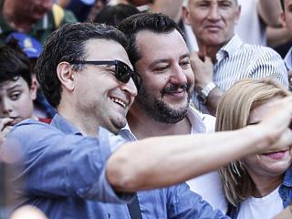 Orbánék nélkül ünnepelnek Salviniék Brüsszelben