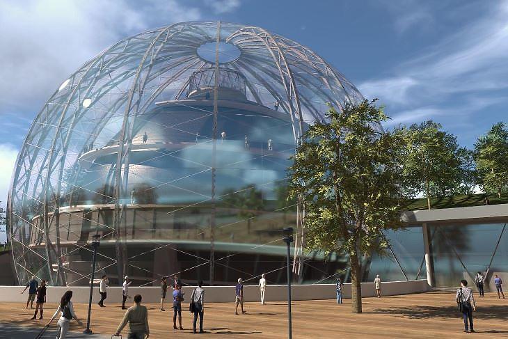 A Cirkuszművészeti Központ látványterve (fotó: kormany.hu)