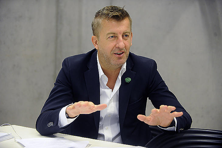 Scheer Sándor, a Market Építő Zrt. vezérigazgatója