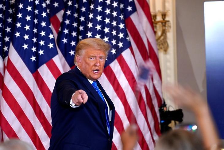 Trump megbukott, de még feltámadhat (fotó: EPA)