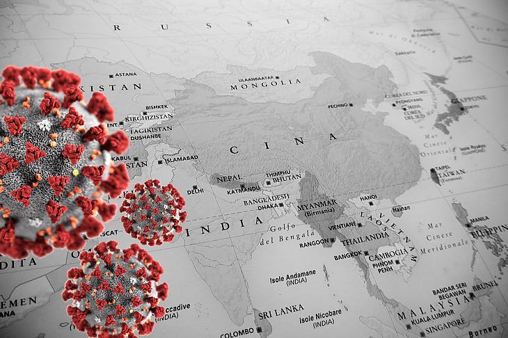 Indiában berobbant a járvány. Fotó: Depositphotos