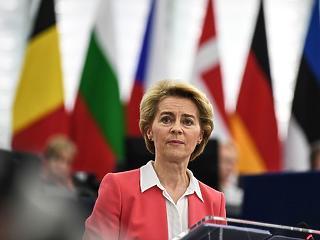 Megszavazta az Európai Parlament a von der Leyen bizottságot