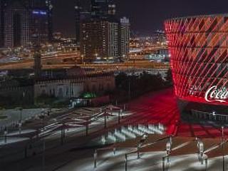 Két új látnivalóval bővült Dubai – itt a Coca-Cola Arena és a Quranic Park