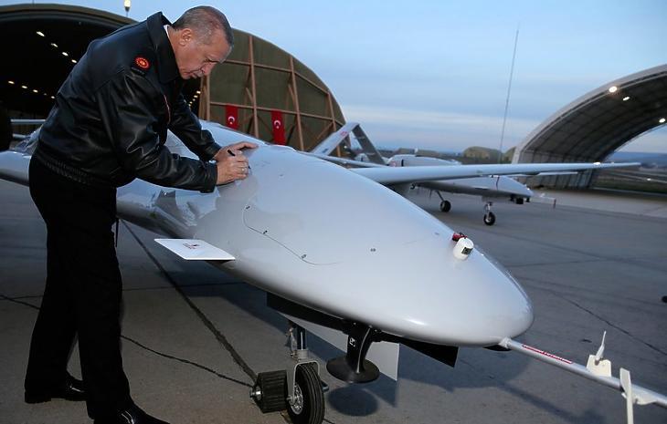A török drónok rommá verték az orosz légvédelmet (fotó: AP)