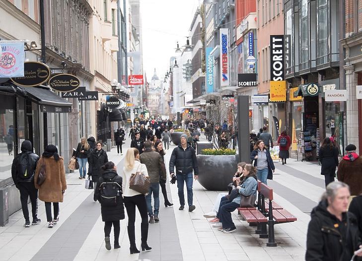 Stockholm, 2020. április 1. EPA/FREDRIK SANDBERG