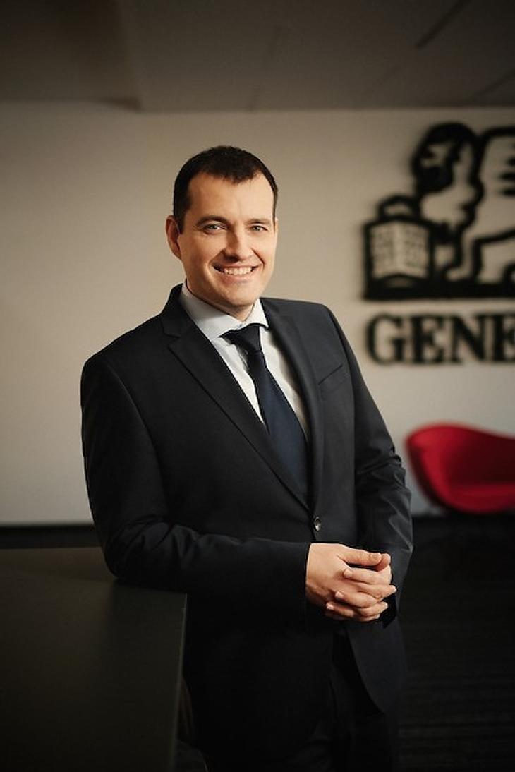 Varga Róbert, a Generali Alapkezelő vezérigazgatója. Fotó: Generali