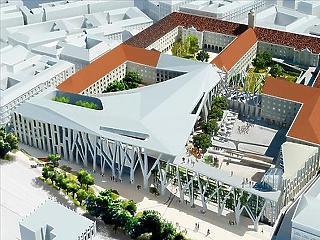 Legkorábban a ciklus végére készülhet el a Városháza-park