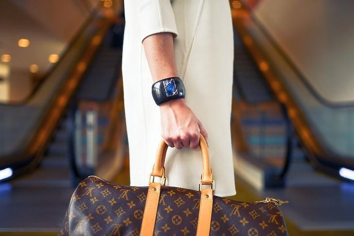 Louis Vuitton modell (Pixabay.com)