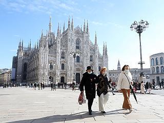 Zárlat alá kerülhet Olaszország szárazföldi része hétfőtől