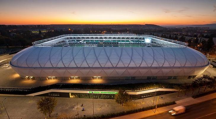 A szombathelyi stadion (Fotó: MTI)