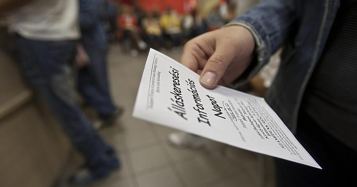 Három éves csúcson az álláskeresők száma Magyarországon