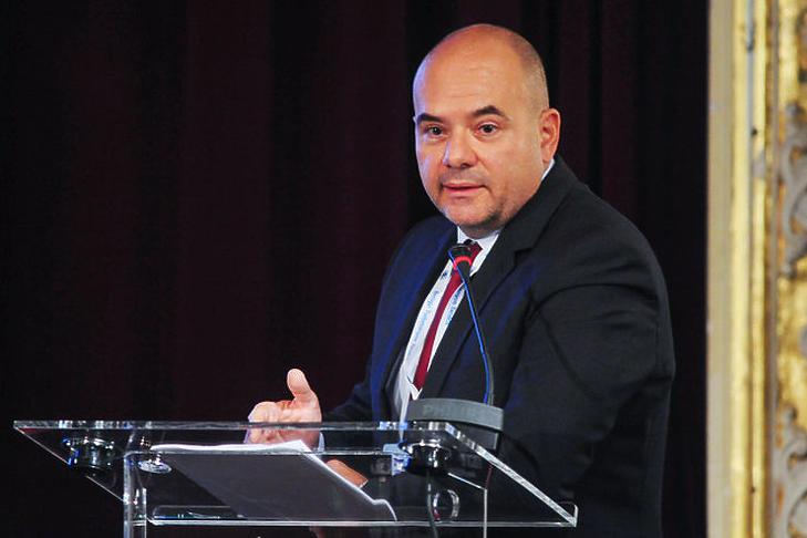 Gál András Levente, a Nemzeti Adatvagyon Ügynökség ügyvezetője (Forrás: Trend FM)