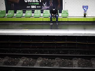 Egy nap alatt 4 ezren szegték meg a kijárási tilalmat Franciaországban