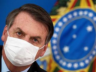 Koronavírusos a brazil elnök, aki komolytalannak nevezte az egész pandémiát