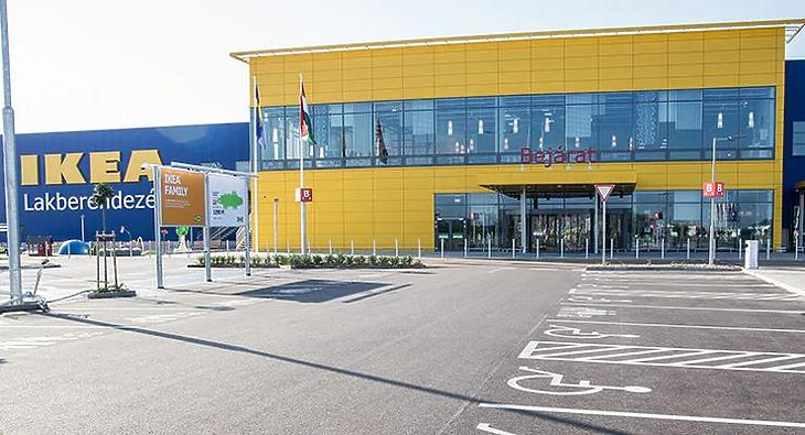 Az Ikea marad a legnagyobb árbevételű vállalat a szektorban (Forrás: ikea.hu)