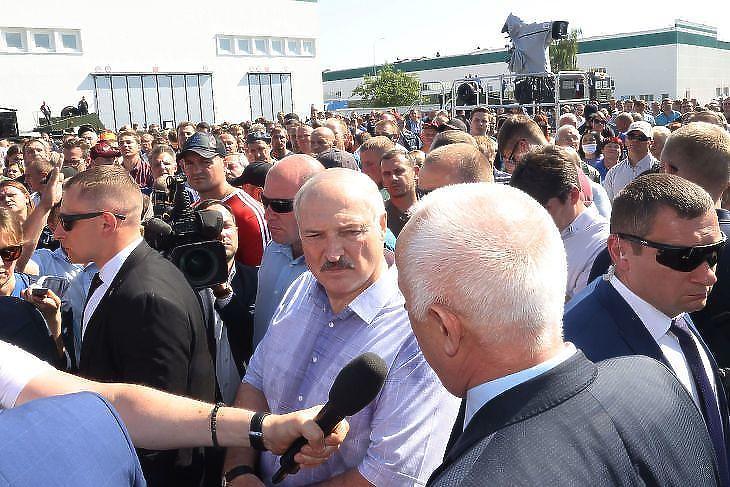 Nem vet ki szankciókat az EU Lukasenkára