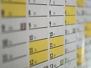 Újabb rövid hét jön, de mit rejt a naptár?